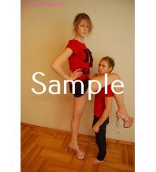 Zoey, Ivan: 20cm high heels