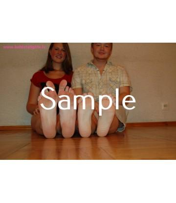 Becky, John: Hand & Feet comparison