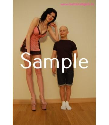 Gabriela vs Tony - high heels