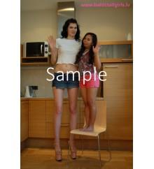 Gabriela vs Melanie - 20cm (8 inch) high heels